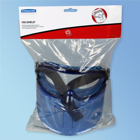 Get KleenGuard™ V90 Face Shield Safety Goggles (18629) at Harmony