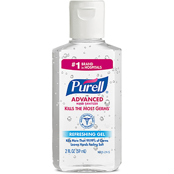 Get Purell Instant Hand Sanitizer, 2 oz, Flip Top Bottle, 24/cs (GOJ960624F) at Harmony Lab & Safety Supplies