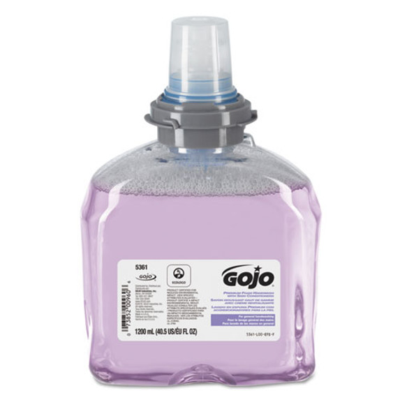 Get GOJO TFX Premium Foam Hand Wash with Moisturizers, 2/case (GOJ5361-02) at Harmony