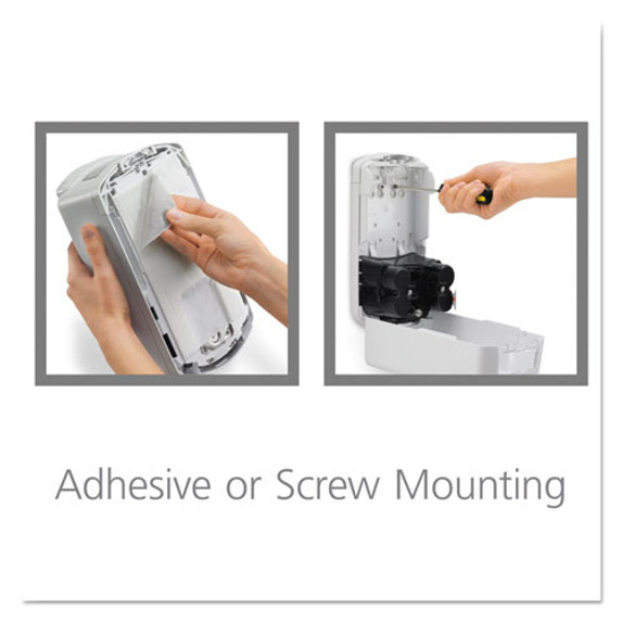 Get easy-mounting Provon LTX-12 Touch Free Soap Dispenser, 1200 mL, each (GOJ197104) at Harmony Lab and Safety Supplies