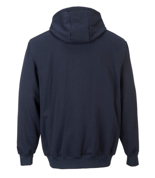Get Portwest ARC 2 Flame Resistant Hooded Sweatshirt, Navy (UFR81NRR) at Harmony Lab a& Safety Supplies