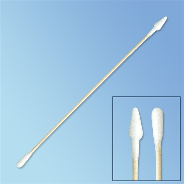 "Get Puritan Tapered & Regular Tip Cotton Swab, 6"" Wood Shaft 821-WC-DBL at Harmony"
