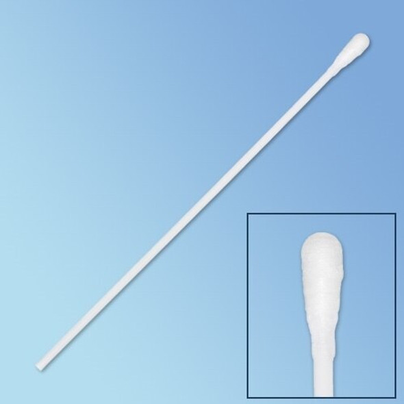 "Get Puritan Sterile Polyester Swab, Regular Tip, 6"", Solid Polystyrene Shaft, 1000/cs P25-806-1PD-SOLID at Harmony"