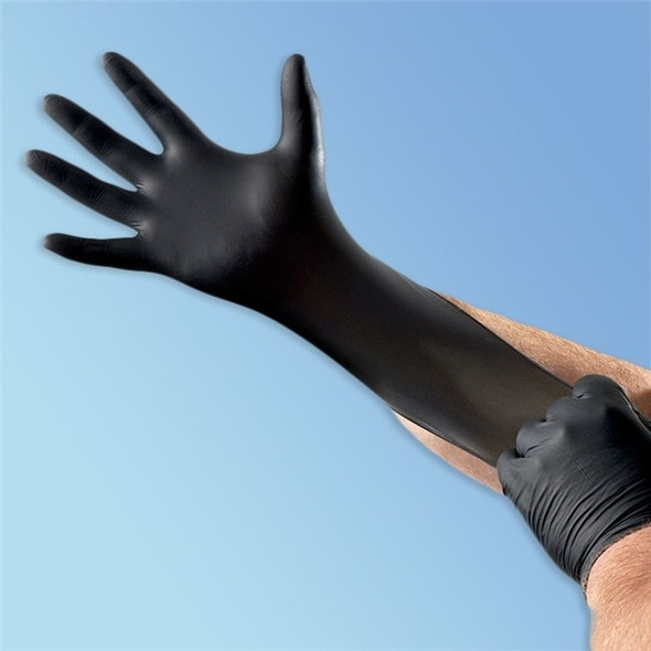 Venom Black Nitrile Exam Glove, 3 mil, 1000/case