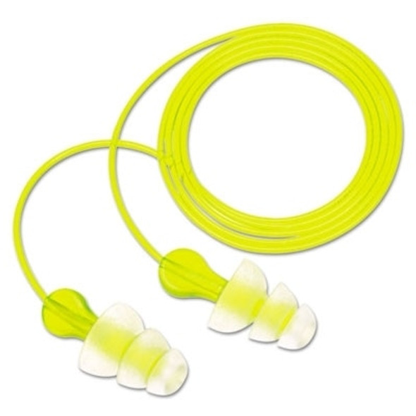 Get 3M Peltor Next Tri-Flange Reusable Earplugs, 26 NRR, Corded, 100/box R3-P3000 at Harmony