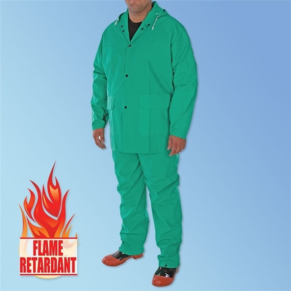 Get PVC/Nylon/PVC Green 2-Piece Acid Suit, ea LB1370 at Harmony