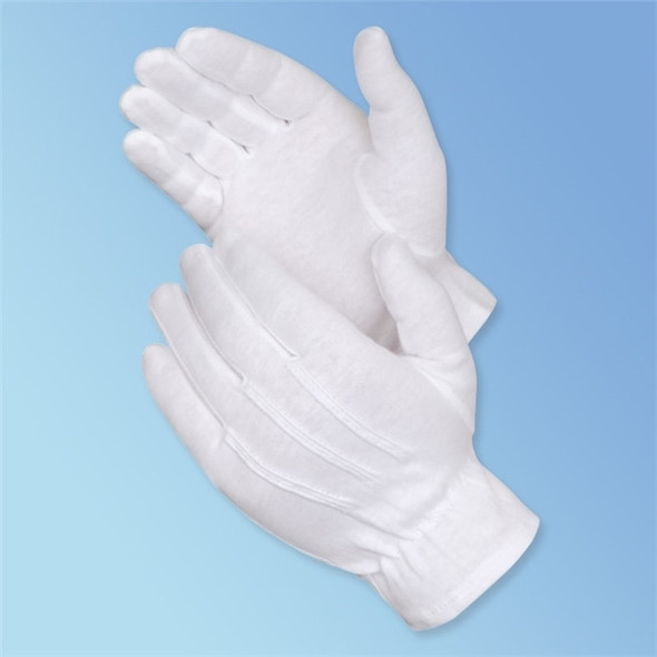 Get Formal White Dress Gloves, 12 pairs LB4621 at Harmony