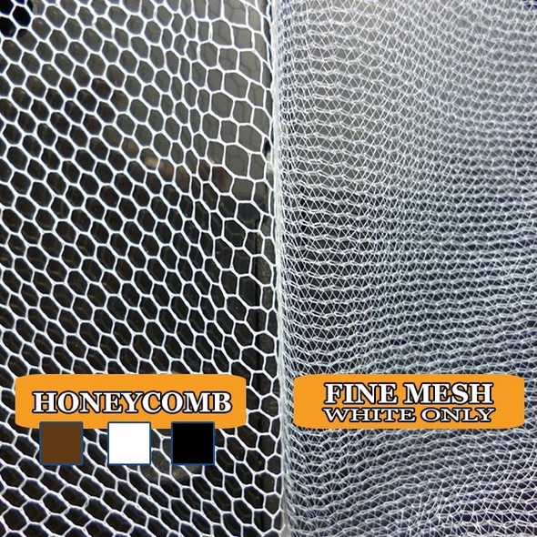 White Fine Mesh Hair Nets | Harmony Lab and Safety Supplies
