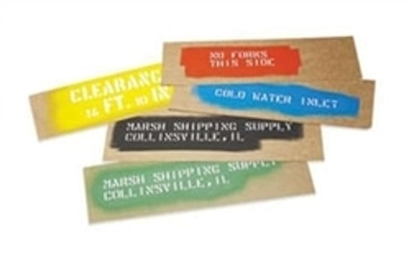 Get Stencil Oilboard 7 in. x 24 in., 540/cs BSTOB0724 at Harmony