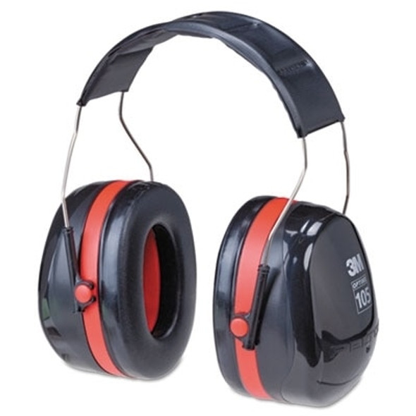 Get Peltor Optime 105 Headband Earmuffs H10A, 30 NRR, ea L3MH10A at Harmony