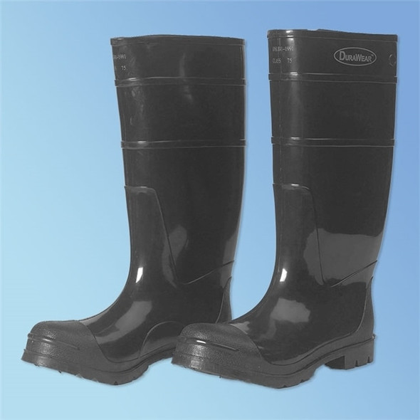 "Get Steel Toe Black PVC Boot, 16"", pair LIB1551 at Harmony"