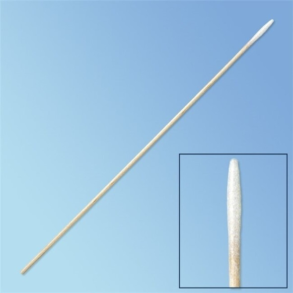 "Get Puritan Sterile Mini Tapered Tip Cotton Swab, 6"" Wood Shaft, 5-Swab MultiPack 25-826-5WC at Harmony"