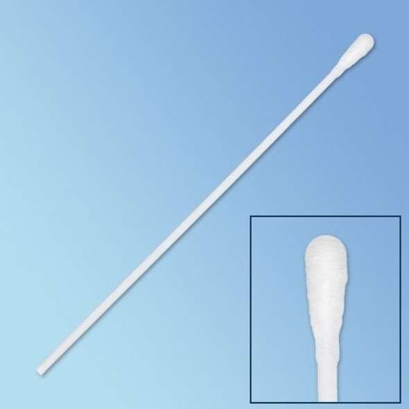 "Get Puritan Double Sterile Polyester Swabs, Regular Tip, 6"", Solid Polystyrene Shaft, 2000/cs P25-806-2PD-SOLID at Harmony"
