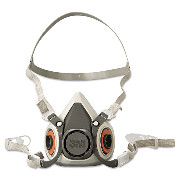 Get 3M 6100 Series, Reusable Half Face Respirator, Small LAG-6100 at Harmony