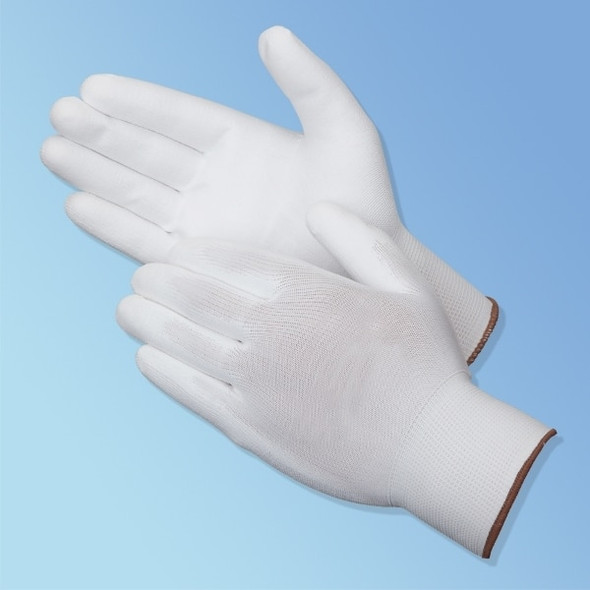 Get P-Grip Polyurethane Coated Glove, White/White, 12/pair LB4640 at Harmony