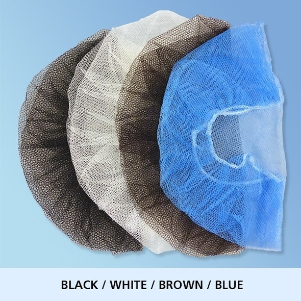 Honeycomb Hair Nets, blue, white, brown, or blue