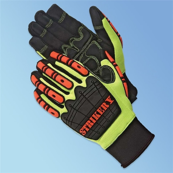 Get DayBreaker Striker V Anti Impact Gloves, Padded Palm, Neoprene Cuff, 1 pair LIB0920 at Harmony