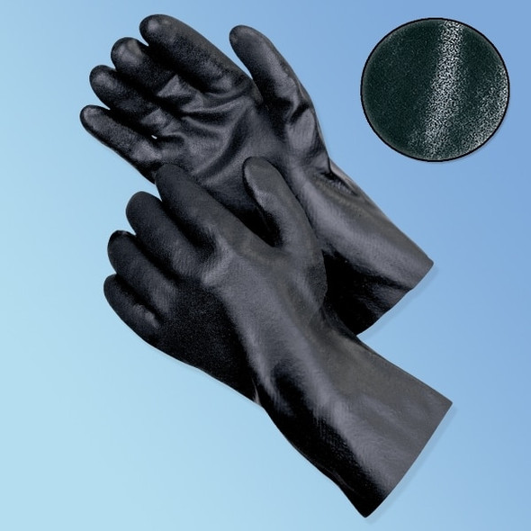 "Get 12"" Sandy Finish PVC Coated Glove, 12/pairs LIB2623 at Harmony"