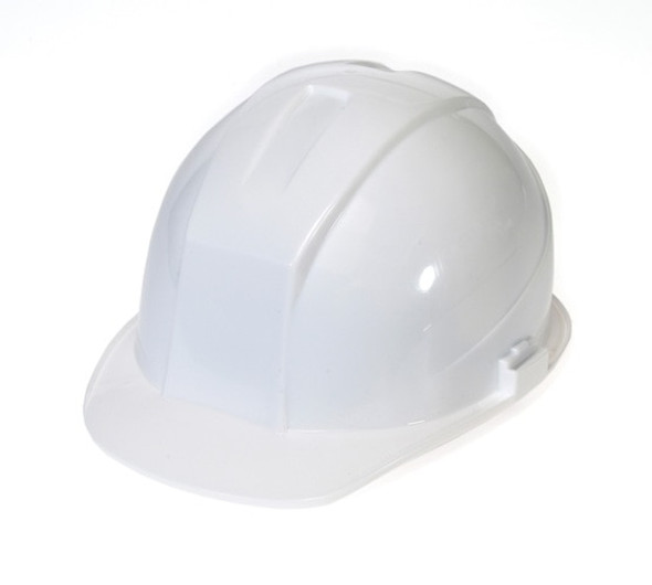 Get Durashell Cap Style Hard Hats, 4 Point Ratchet Suspension, White LB1404RW at Harmony