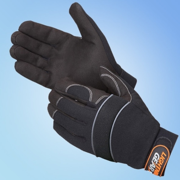 Get 1st Knight Mechanic's Glove, Black, 1 pair LB0916BK at Harmony