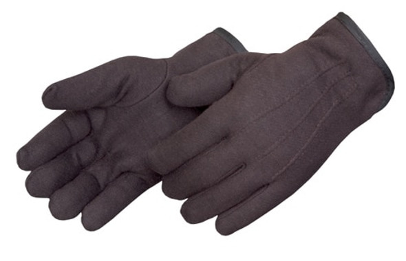 Get Brown Jersey Glove, Fleece Lined, Straight Thumb, LG, 12/pr LIB4308Q at Harmony