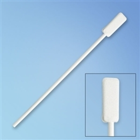 "Get Puritan Flat Paddle Tip Knitted Polyester Swab, 6"", Polypropylene Shaft 3600 at Harmony"