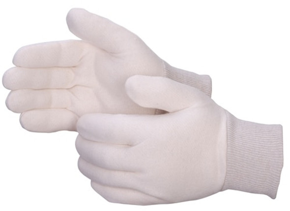 Get Natural Reversible Light Weight Jersey Glove, Knit Wrist, Men's, 12/pr LIB4509Q at Harmony