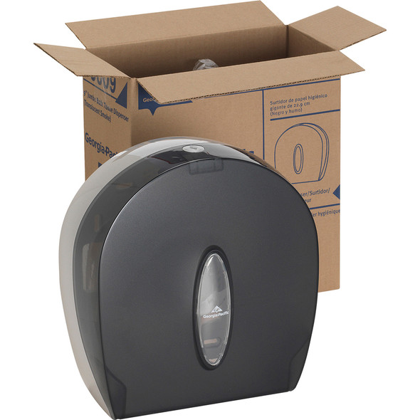 Get Georgia-Pacific 1-Roll Jumbo Jr. High Capacity Toilet Paper Dispenser, Smoke Gray, each at Harmony Lab & Safety Supplies.