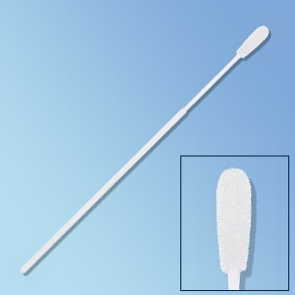 "Get Sterile HydraFlock Flocked Swab Elongated Tip, 6"", Polystyrene Shaft 25-3606-H at Harmony"