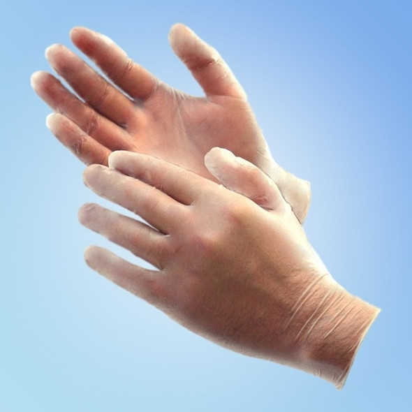 Industrial/Food Service Vinyl Gloves, 5 mil, Powder Free