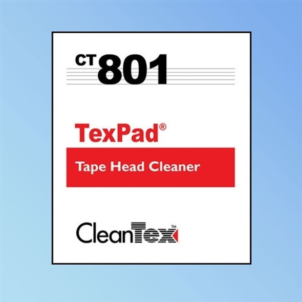 Get CleanTex CT801 Tex Pad Tapehead Wipes CT801-Tex-Pad at Harmony