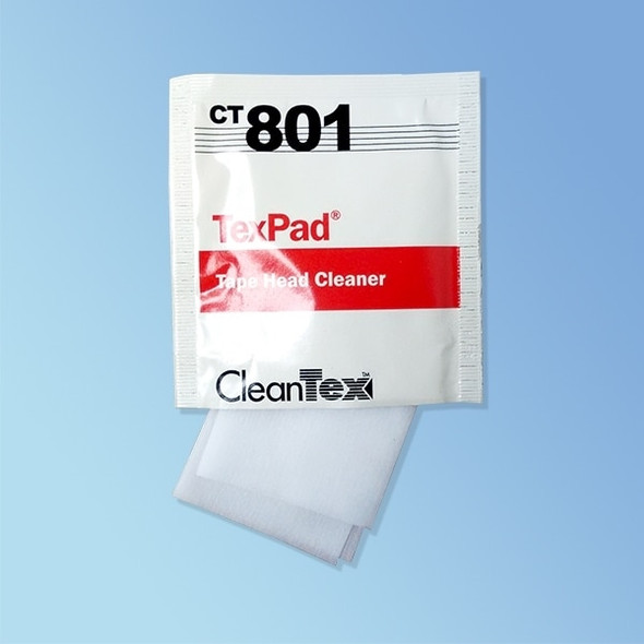 CleanTex CT801 Tex Pad Tapehead Wipes