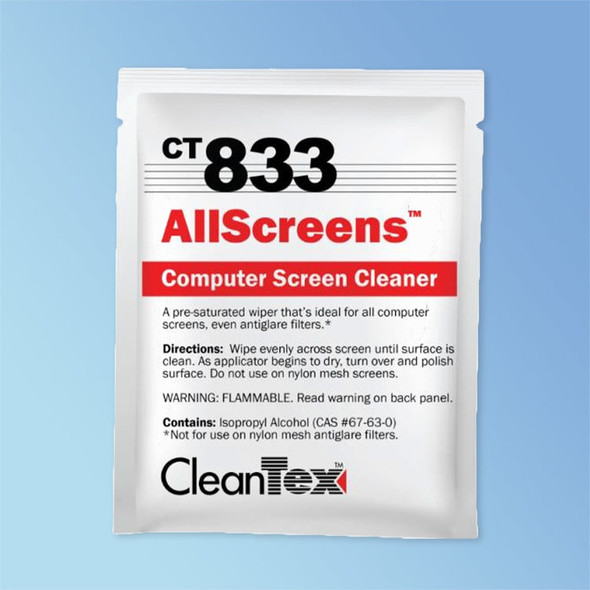 Get CleanTex CT833 All Screen Wipes 100/Box CT833 at Harmony
