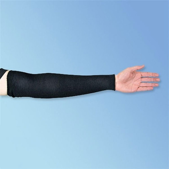 "Superior Glove Black Cutban 18"" Cut Resistant Arm Sleeves"