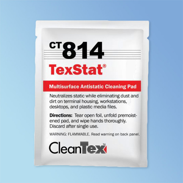 Get CleanTex CT814 Tex Stat Wipes, 72/box CT814 at Harmony