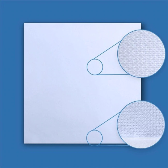 TekniClean Laser Sealed Edge Knit Cleanroom Wiper (4 Sizes) | Harmony Lab and Safety Supplies