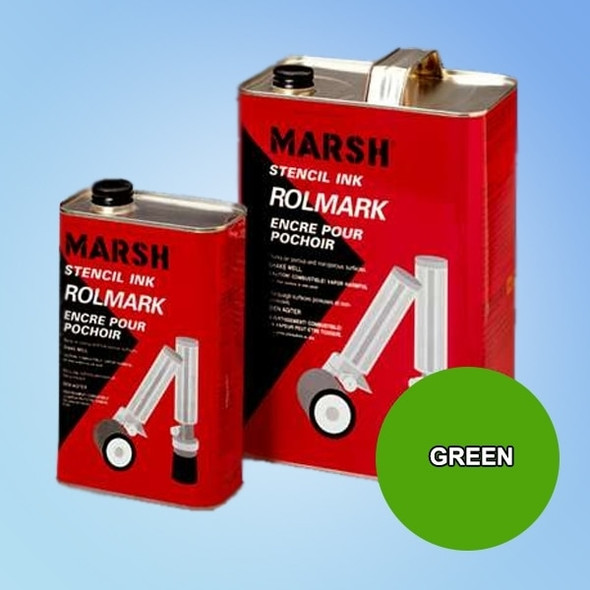Get Marsh Rolmark Green Ink X20911-GREEN at Harmony