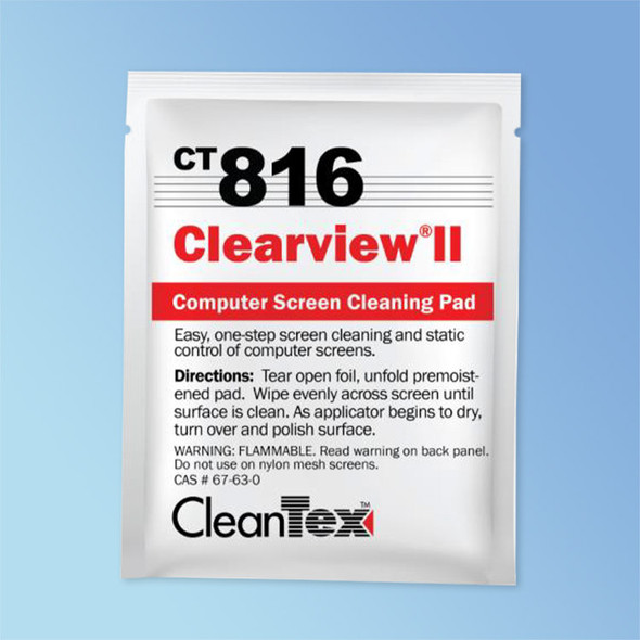 Get CleanTex CT816 Clear view II Wipes 100/box CT816 at Harmony