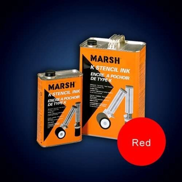 Get Marsh K-1 Red Stencil Ink, Quart XK2RQ at Harmony