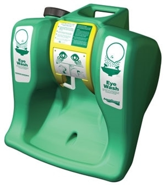 Get AquaGuard Gravity-Flow Portable Eyewash Station, 16 Gallon S1540B at Harmony
