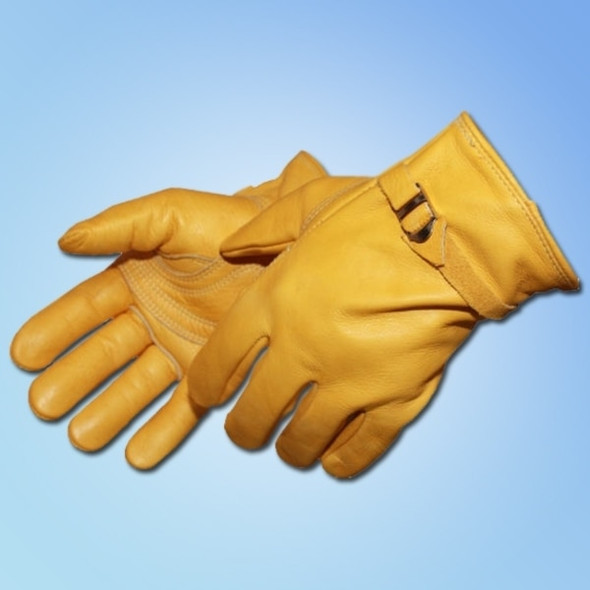 Get Leather Drivers Glove with Rolled Cuff, 12 pair LB6504 at Harmony