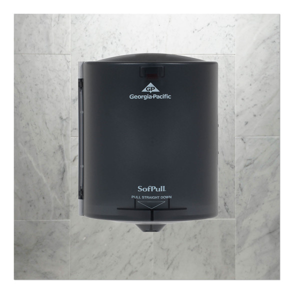 Get SofPull Center Pull Towel Dispenser L582-01 at Harmony