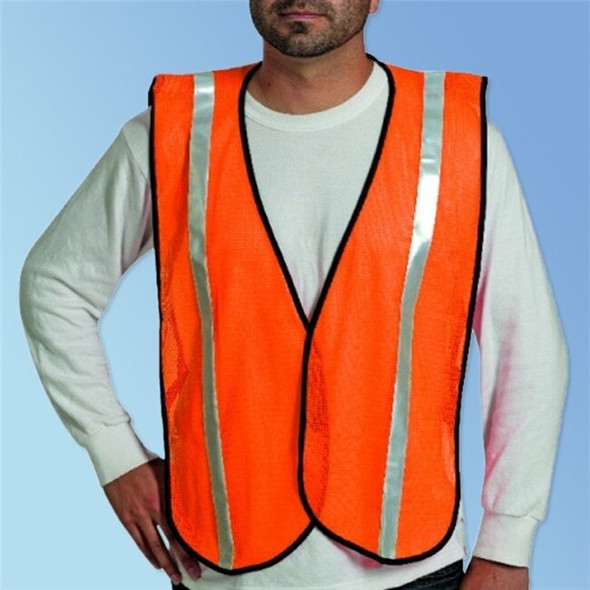"Get HivizGard Mesh Safety Vest, 1"" Reflective Stripes (2 Colors) LBN16001 at Harmony"