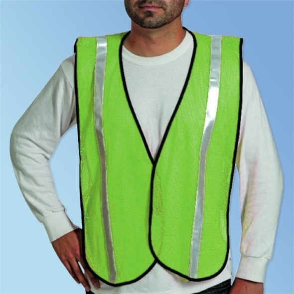 HivizGard Non-ANSI Safety Vest, Lime Green