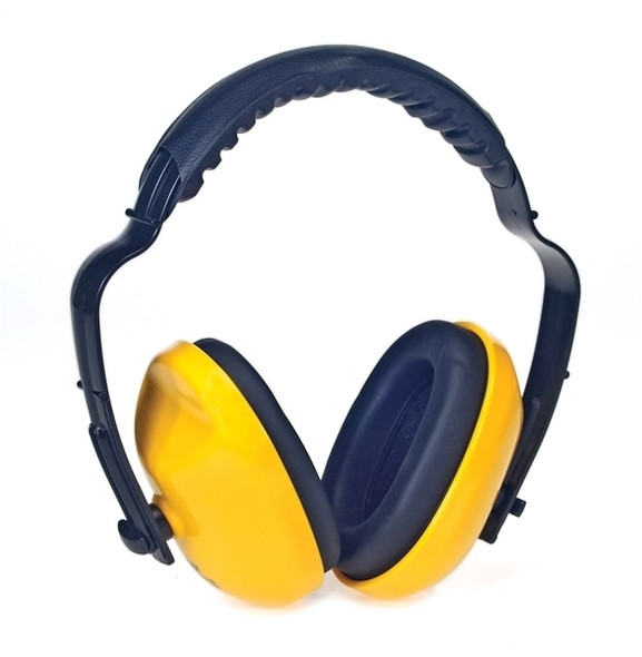 Get Ear Muffs w/ Adjustable Headband, 25 NRR, Yellow LB1425Y at Harmony