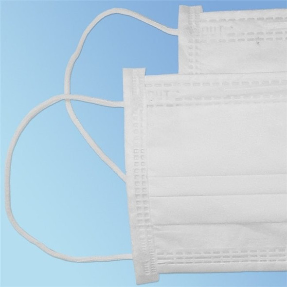 Get Cleanroom Ear Loop Face Mask, Class 10, White, 50/bag TFMEL7-WH at Harmony