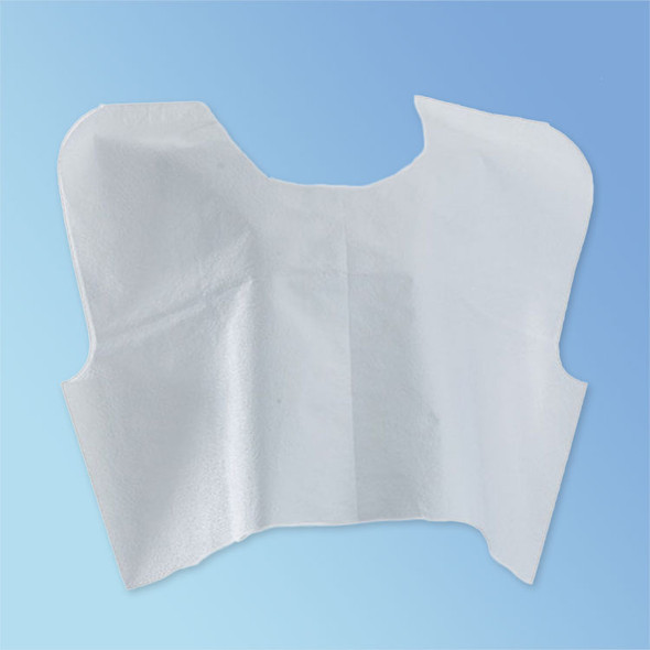 "Get Disposable Exam Capes, White, 30"" x 21"", 100/cs NON24248 at Harmony"