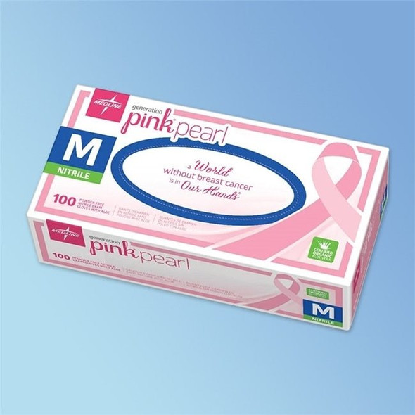 Get Generation Pink Pearl Nitrile Exam Gloves, 5.5 mil, 100/box PINK508 at Harmony