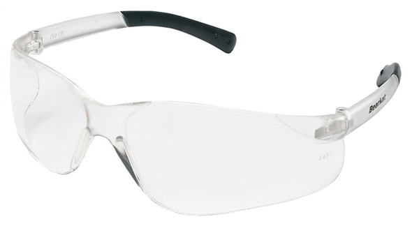 Crews BearKat Wraparound Safety Glasses, Clear Lens, each