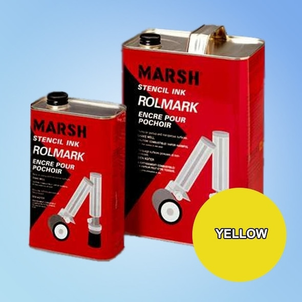 Get Marsh Rolmark Yellow Ink X20926-YELLOW at Harmony